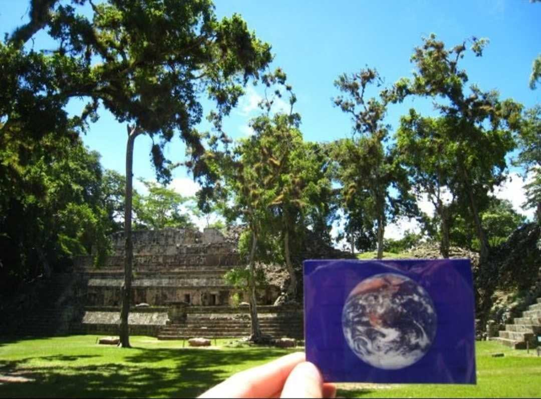 The ancient city of Copán was #EarthFlagged!