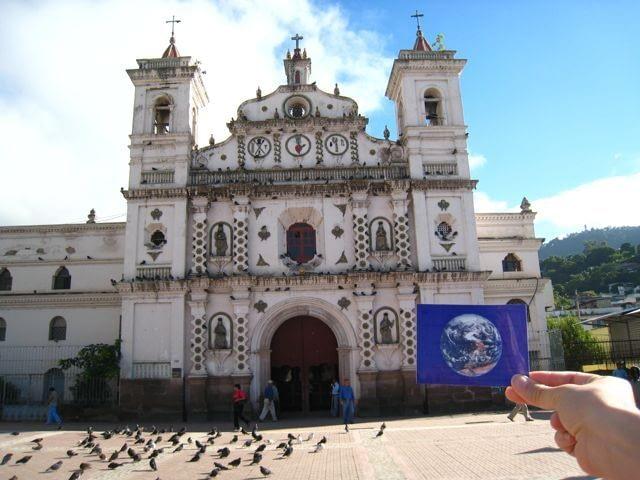 The Iglesia of Santa Maria de los Dolores was #EarthFlagged !