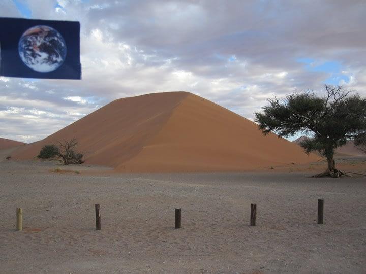 Dune 45 was #EarthFlagged!