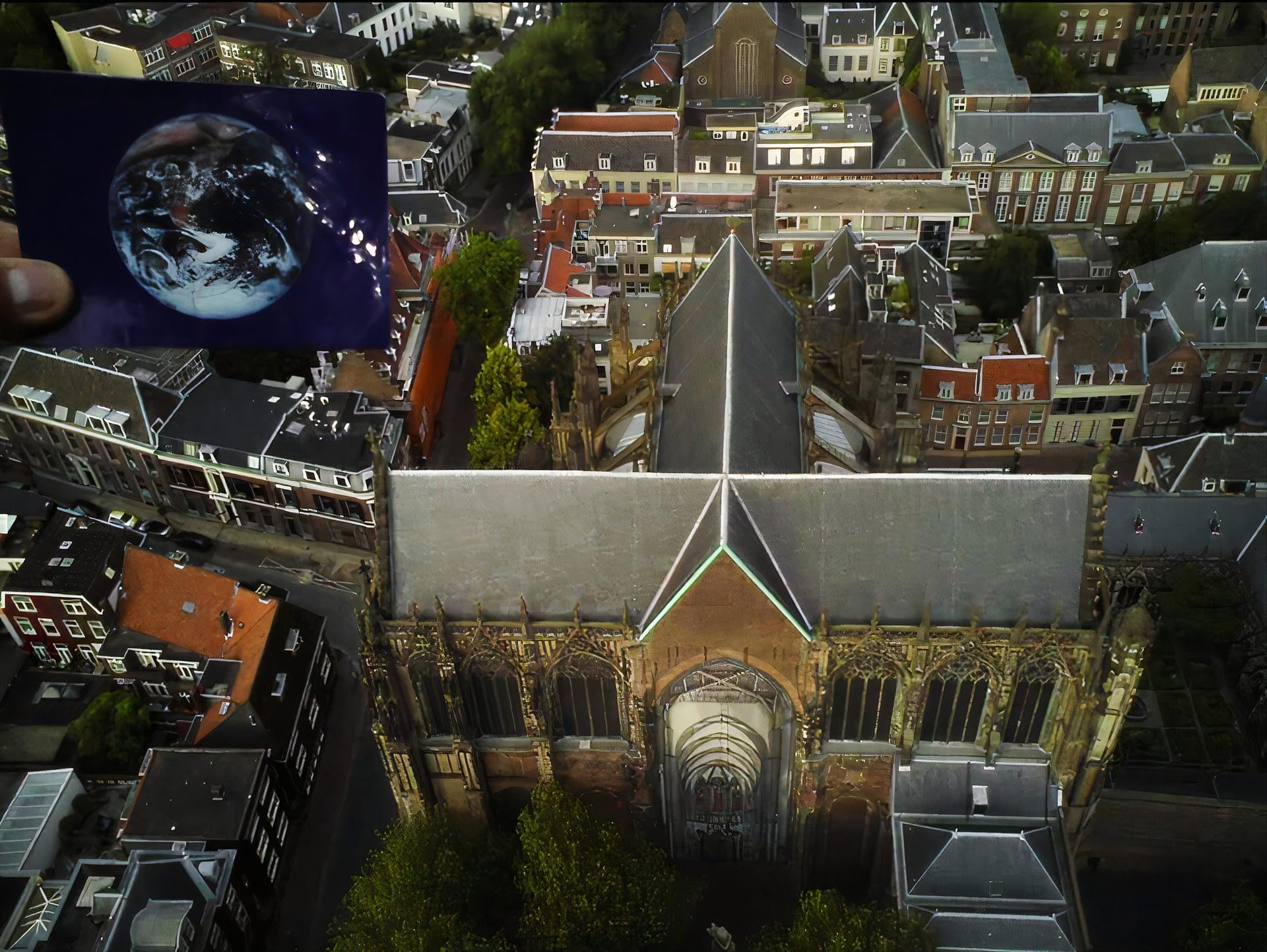 The Domkerk of Utrecht was #EarthFlagged!