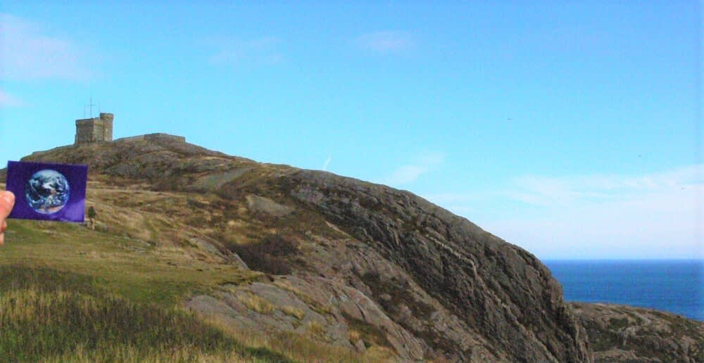 Cabot Tower and Signal Hill were #EarthFlagged !