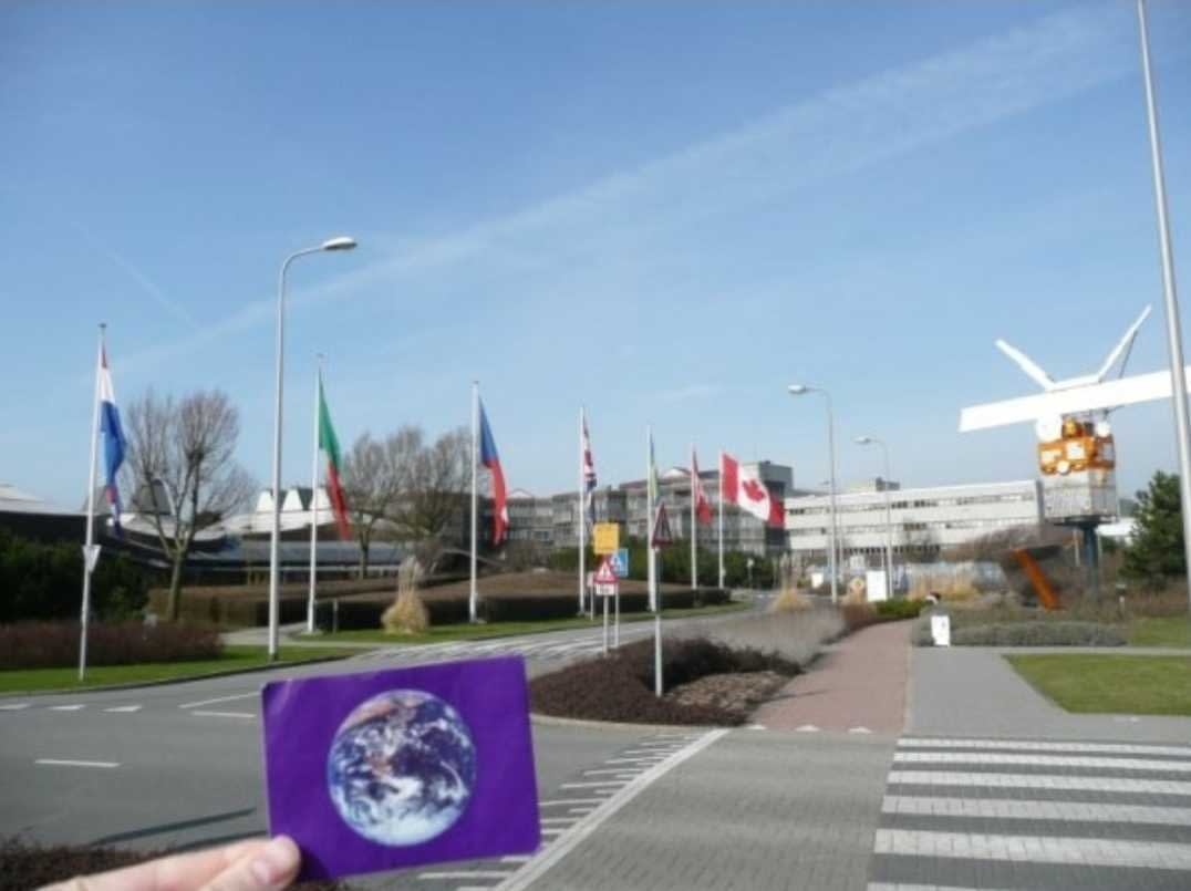 The European Space Research and Technology Centre (ESTEC) was #EarthFlagged !