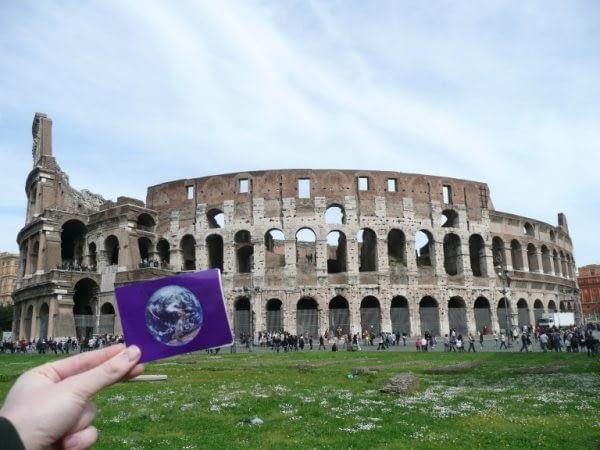 The Colosseum was #EarthFlagged!