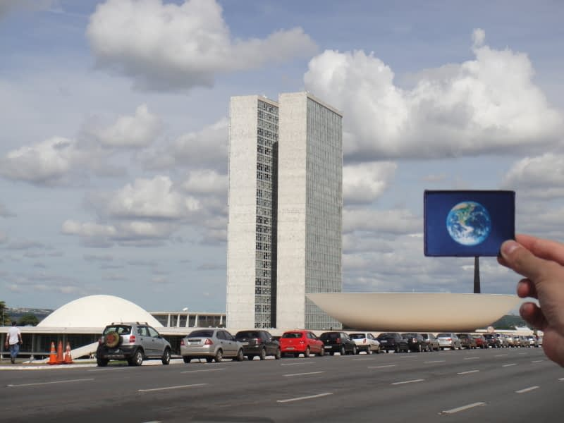 National Congress of Brazil was #EarthFlagged !