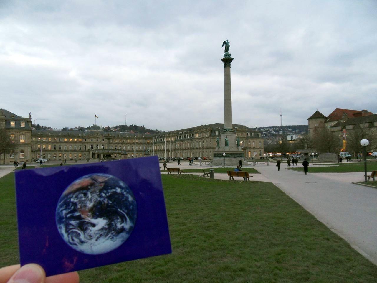 Schlossplatz was #EarthFlagged!